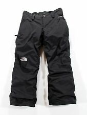 The North Face HyVent Insulated Snow Ski Pants Girl's S Small 7-8 Black