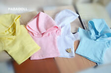 Simple Hoodie T-Shirt For BJD 1/6 YOSD 1/4 MSD,1/3 SD17 Uncle Doll Clothes CWB24