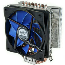 "Deepcool ICE WIND Aluminum Heat Sink 4.72"" Fan w/Copper Heatpipes For Intel/AMD"