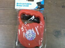 3m Retractable Dog Lead Cable 10ft Auto Reflective Extending Puppy Clasp Leash