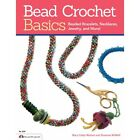 BEAD CROCHET BASICS-Jewelry-Beaded/Beading Craft Book-Bracelets/Neck-Seed Beads