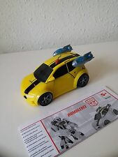TRANSFORMERS ANIMATED BUMBLEBEE COMPLETE, Deluxe 2008