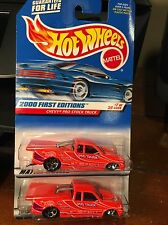 2000 Hot Wheels First Editions Lot Of Two Chevy Pro Stock Truck #67