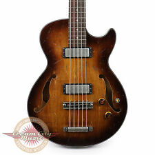 Brand New Ibanez AGBV205ATCL Artcore 5-String Bass Tobacco Burst Low Gloss