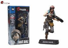 "GEARS OF WAR 4 KAIT DIAZ 7"" inch ACTION FIGURE COLOUR TOPS BLUE MCFARLANE"