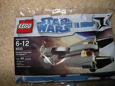 LEGO Star Wars 8033 General Grievous Starfighter BUY 6 POLYBAGS = FREE SHIPPING!