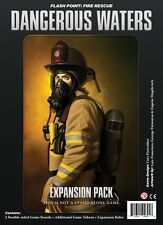 Flash Point: Dangerous Waters Expansion Firefighter Cooperative Board Game Indie
