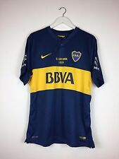 Boca Juniors CALLERI #27 2014 *EL CLASICO* MATCH PREPARED Football Shirt (XL)