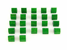 Power Grid Replacement / Expansion Wooden House / City Piece Set 22pc - Green