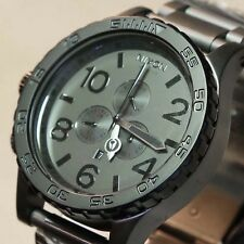 NEW Nixon Watch 51-30 Chrono Black Gunmetal, A0831062,5130,SALE MEN GIFT!NICE