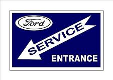 Ford Motor Co Retro Vintage REPRODUCTION Metal Sign Garage Sign