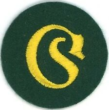WW2 German Army Equipment Administration NCO Sleeve Patch
