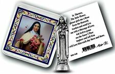 "St. Therese of Lisieux ""The Little Flower"" Pocket Statue STOCKING STUFFER!"