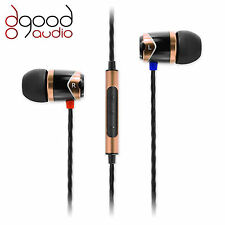SoundMAGIC E10C AWARD WINNING IN-EAR SMARTPHONE MOBILE HEADPHONES GOLD & BLACK