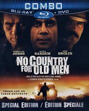 No Country for Old Men(NEW BLU-RAY DVD COMBO) Josh Brolin, Tommy Lee Jones, Javi