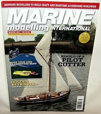 March 2011 MARINE MODELLING INTERNATIONAL HOBBY MAGAZINE #288
