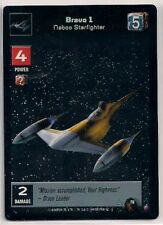 Star Wars Young Jedi CCG Reflections FOIL F8 Bravo 1, Naboo Starfighter