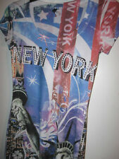 Preowned misses Pullover Shirt small NEW YORK knit S womens