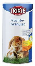 Fruit Granules with Essential Vitamins Rodents Hamsters Guinea Pigs Rabbits 125g