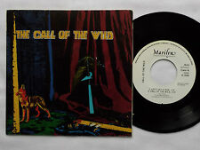 """The CALL OF THE WILD Let's get a ride SPAIN 7"""" 45 w/PS MARILYN (French psycho)"""
