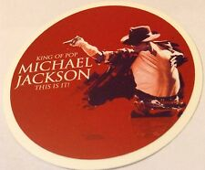 Pegatina/sticker/autocollant/Adesivo: Michael Jackson, King Of Pop, This Is It!