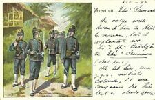 indonesia, Royal Dutch East Indies Army, KNIL, Military Police, Uniform (1903)