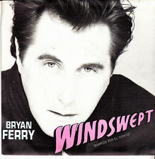 BRYAN FERRY-WINDSWEPT + CRAZY LOVE SINGLE VINILO 1985 SPAIN EXCELLENT COVER-