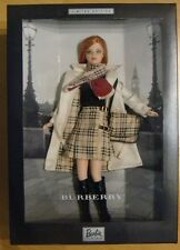 2001 Burberry Barbie Limited Edition NRFB Barbie Doll xb045