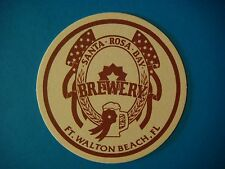 Beer Pub Coasters  ^  Santa Rosa Bay Brewery  ^  Walton Beach, Florida ** CLOSED