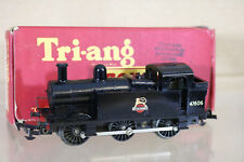 TRIANG R52 1953 1954 OPEN COUPLING BR 0-6-0 JINTY CLASS 3F LOCO 47606 BOXED ng
