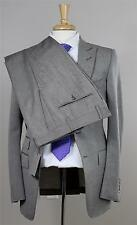 $4895 Tom Ford NWT Gray Solid Mohair Wool Silk Slim Suit 48R eu 38R Hand Made