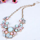 Sexy Women's Pendant Chain Crystal Choker Chunky Statement Bib Necklace Gift