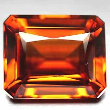 41.36 CT AAA! GOLDEN ORANGE CITRINE OCTAGON