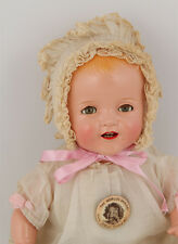 "RAREST 16"" SHIRLEY TEMPLE BABY Composition Doll from 1935 Orig outfit STUNNING*"