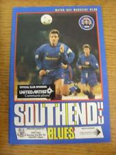23/12/1995 Southend United v Port Vale  (Good Condition)