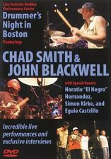 Drummer's Night in Boston 2005 Instructional Drum  DVD NEW 000320592