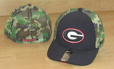 NIKE GEORGIA BULLDOGS CAMO MESH BACK FLEX FITTED HAT CAP MENS OSFM