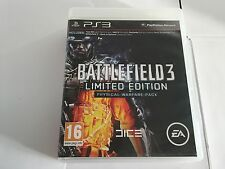 Battlefield 3 Limited Edition on Playstation 3 PS3 - EX W BKLET