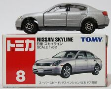 1:62 SCALE #8 TOMICA NISSAN SKYLINE RARE! TOMY