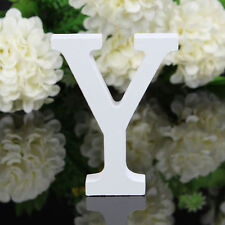Letter Y Wooden Alphabet Freestanding Name Wedding Birthday Party Home Decor A2