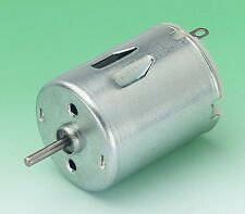 5 x RE280 High Torque Circular DC Motor for Model / Educational Use With Clips