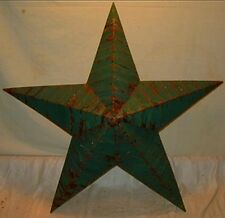 New Rustic Genuine Amish Quality Primitive 64 INCH Barn Star USA Made DARK GREEN