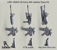 """Live Resin 1/16 LRE-16004 US Army M4 Carbine """"Easy Kit"""""""