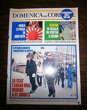 DOMENICA DEL CORRIERE # Anno 76 - N.3 - 20 Gennaio 1974 - Settimanale