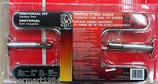 """Grill Mate 001009 UNIVERSAL FIT DUAL H BARBECUE BURNER bbq parts replacement 15"""""""