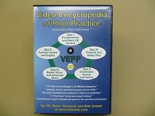 Video Encyclopedia of Pool Practice (structured training - 5 DVD set with case)