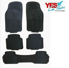 HONDA STREAM 01-05 HEAVY DUTY RUBBER FLOOR MATS 5 PIECE