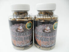 Glucomannan-konjac root- 240 Caps. -Weight loss management- NATURAL FIBER 100%