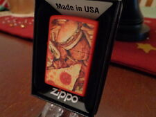FAST FOOD PIZZA CHICKEN FRENCH FRIES HAMBURGER ZIPPO LIGHTER MINT IN BOX 2014