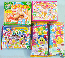 5 PCS SET Japanese Candy Kit Kracie poppin cookin Hamburger Oekaki Gummy Land